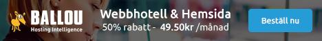 Ballou Webbhotell - webbhotell, e-post och Office 365!