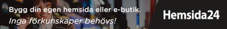 Skapa en säljande hemsida eller e-butik | Hemsida24